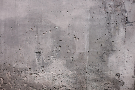 textured wall: Grey textured street wall in Rome