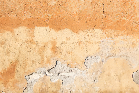 textured wall: Antique textured wall from stone in Rome Stock Photo