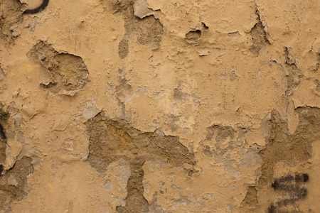 ruinous: Antique street wall in Arezzo, Italy