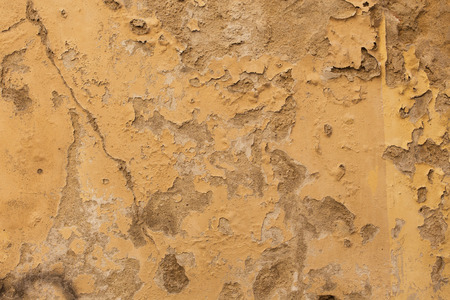 ruinous: Antique  textured street wall in Arezzo, Italy