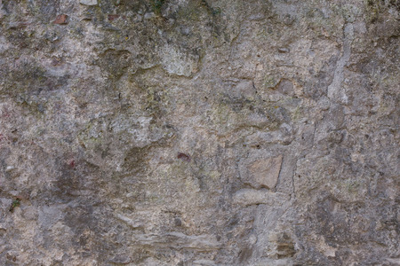 spot the difference: Antique street wall from stone in Spoleto, Italy