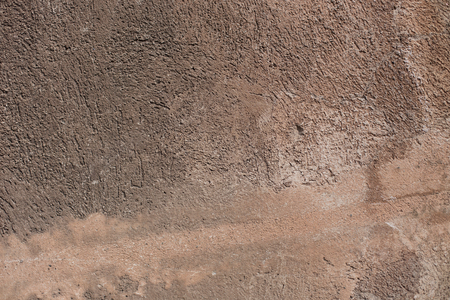 spot the difference: Old textured brown wall in Rome, Italy Stock Photo