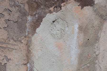 spot the difference: Antique textured street wall from stone in Rome