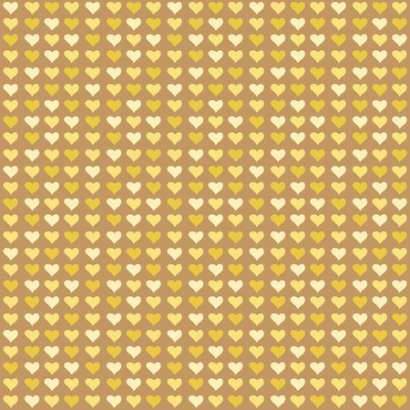 Seamless abstract pattern with color little hearts Illustration