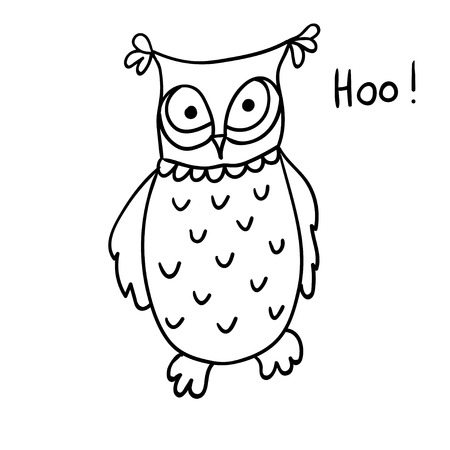 174 sage character stock vector illustration and royalty free sage  cute cartoon wise owl isolated on white background good for coloring hoo hoo