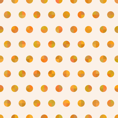 Seamless cute delicate simple pattern with circles. Good for fabric, textile, wrapping paper, pattern fills, wallpapers, backgrounds.  illustration.
