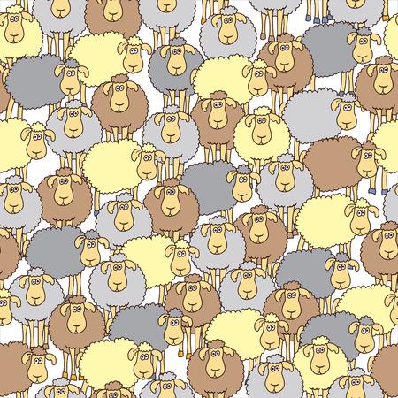 Sheep Wallpaper Pattern 11801