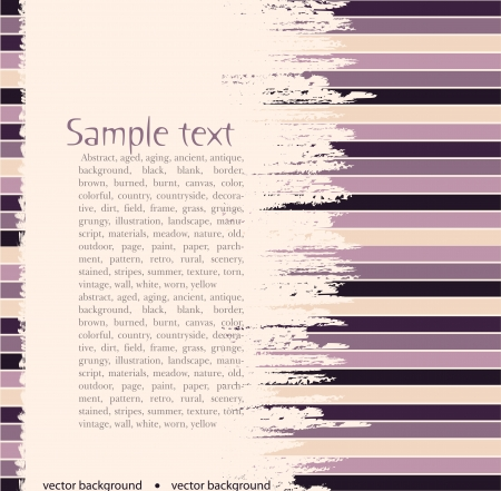 striped background for text Vector