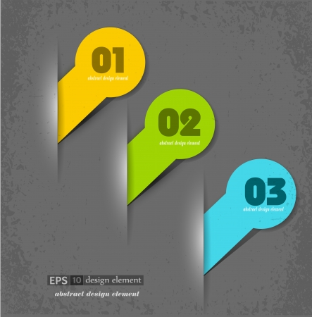 elements for web design on the grey backgrpound