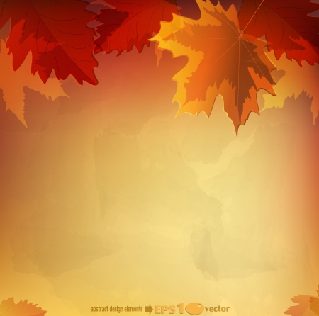 abstract  autumn background Illustration