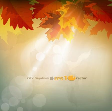 background herfst: abstracte herfst achtergrond