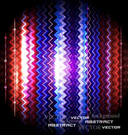 zigzag striped abstract background Vector