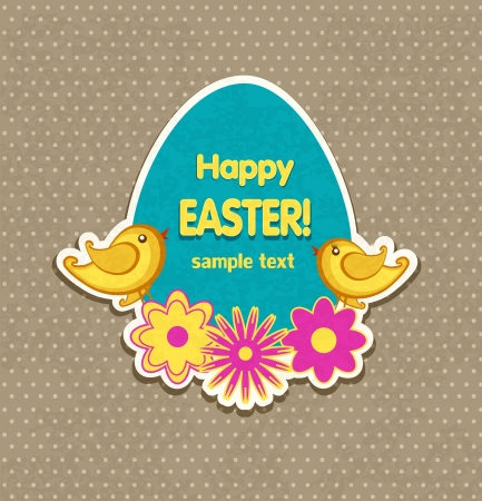 Easter background vector Stock Vector - 17991446