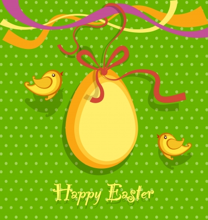 Easter background vector Stock Vector - 17991448