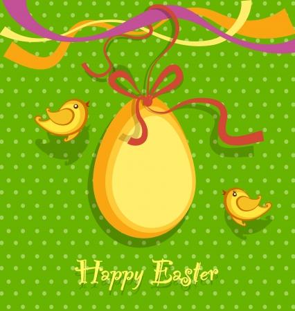 Easter background vector Stock Vector - 17991448