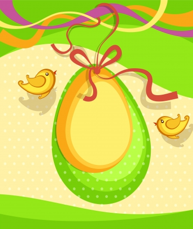 Easter background vector Stock Vector - 17991459