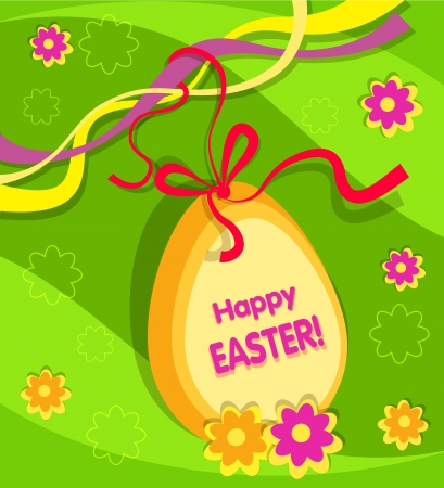 Easter background vector Stock Vector - 17991447