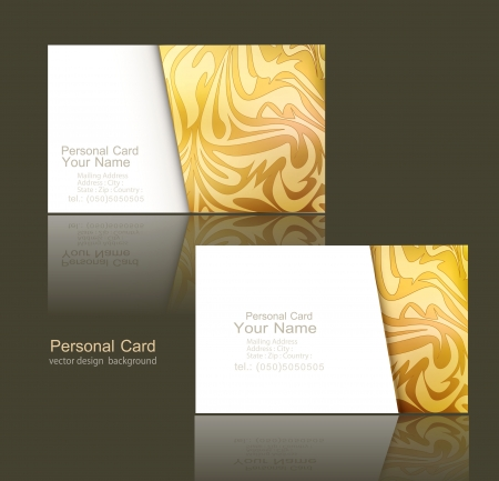 greeting card background: design elements of the business (business cards )