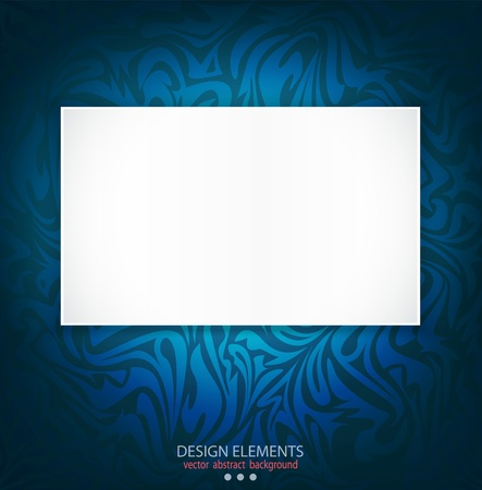 blue ,  delicate, luxurious background with space for text