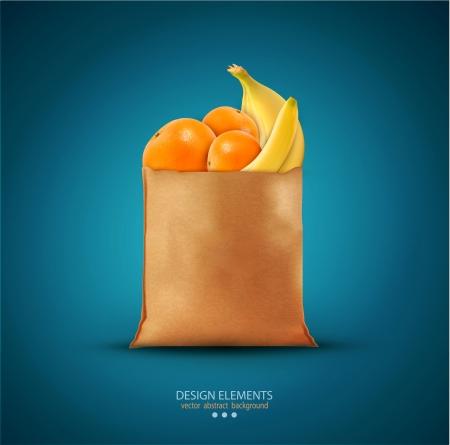 emballer avec des fruits