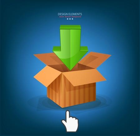 vector icon download and cursor
