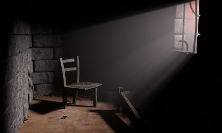 교도소: 감옥 스톡 사진