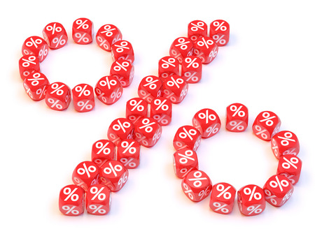 Group a percentage dice create a percentage shape