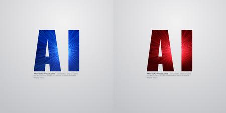 Conception de concept IA, apprentissage en profondeur et technologie future