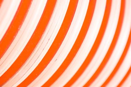 red tube: S�lo rojo. Una parte de tubo de color rojo, la imagen se puede utilizar como un fondo Foto de archivo