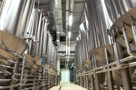 brewery: Big brewery full of special equipment