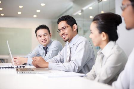 asian business team: Asian Business team working