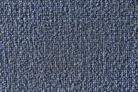 shaggy: small shaggy rug in blue