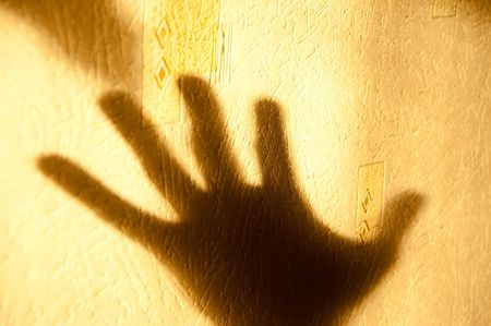 Shadow and hand Stock Photo - 6397748