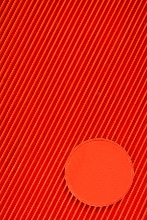 Red Oblique texture and the blank circle photo