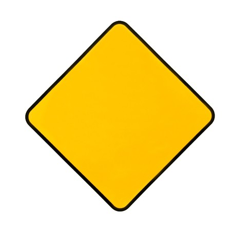 trip hazard sign: Empty yellow warning sign. Add any word you want...