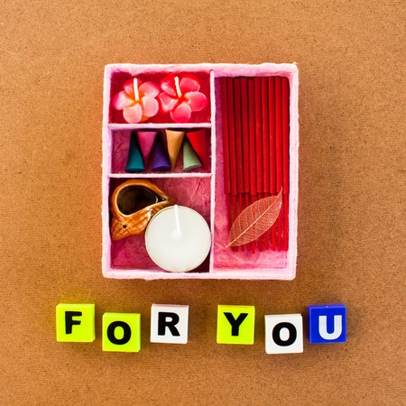 set of fragrant candle,souvenir for you photo