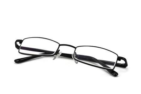 eyeglasses isolated on the white backogrund Stock Photo - 8170106