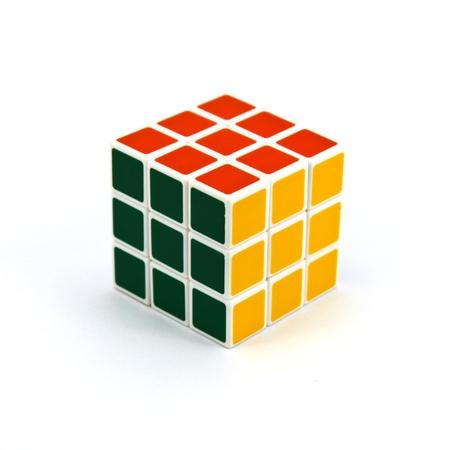 Paradoks: Rubika samodzielnie na białym tle