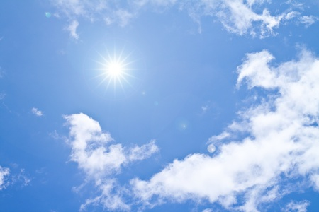 blue sky and cloud Stock Photo - 9492804