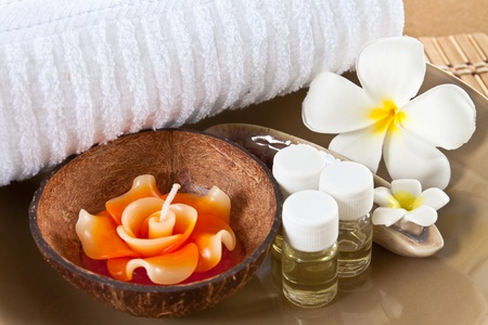 Set aroma in spa voor relax