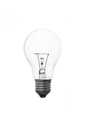 filament: The lightbulb, eco and save energy concept Stock Photo