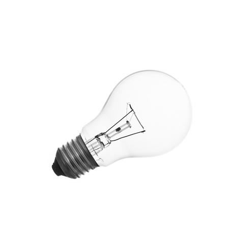 The lightbulb, eco and save energy concept Stock Photo