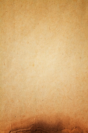 texture of burn paper full frame Stock Photo - 10397135