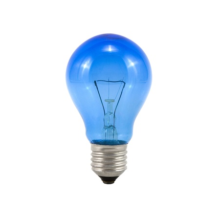 fluorescent lamp: The lightbulb, eco and save energy concept Stock Photo