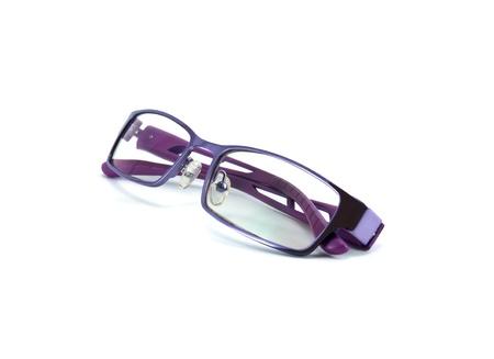 das beste heißes Produkt Original- Violette Brille Isoliert Auf Weißem Hintergrund Lizenzfreie ...