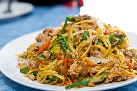 stir fried: Yunnan stir-fried, Chinese food style Stock Photo