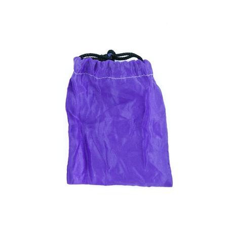 violet bag isolated on white background photo