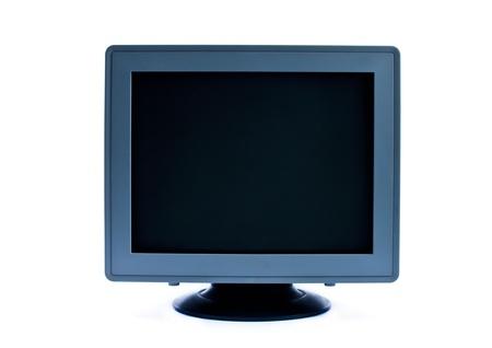 monitor isolated on white background Stock Photo - 12869541