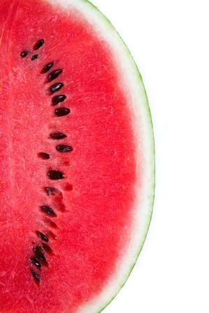watermelon: dưa hấu bị cô lập trên nền trắng
