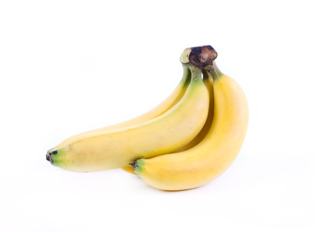 Bunch of bananas isolated on white background Stock Photo - 13443548
